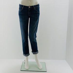 Hudson Bacara Straight Flood Cuff Jeans Size 27